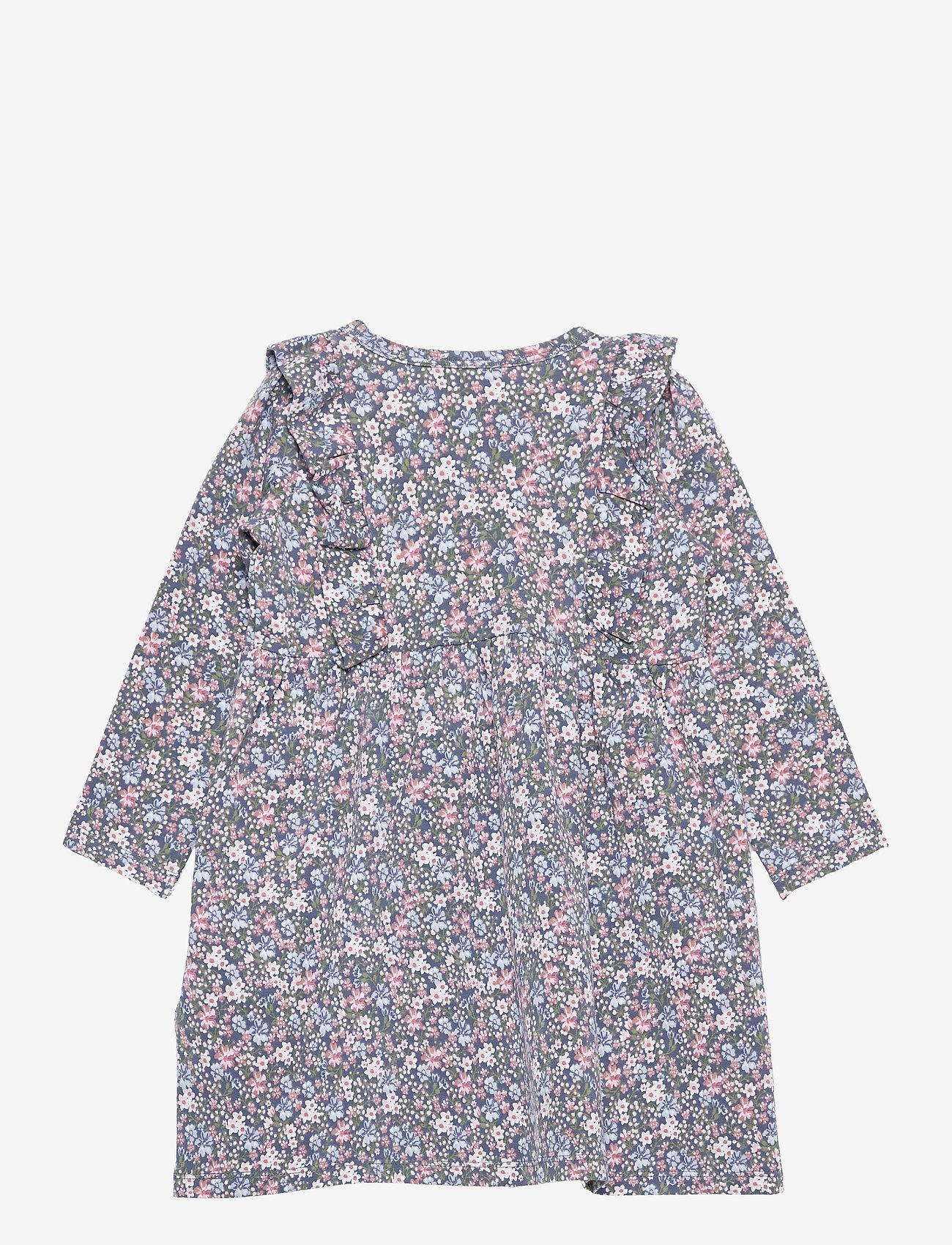 Hust & Claire - Delilah - Dress - jurken - peony blue - 1