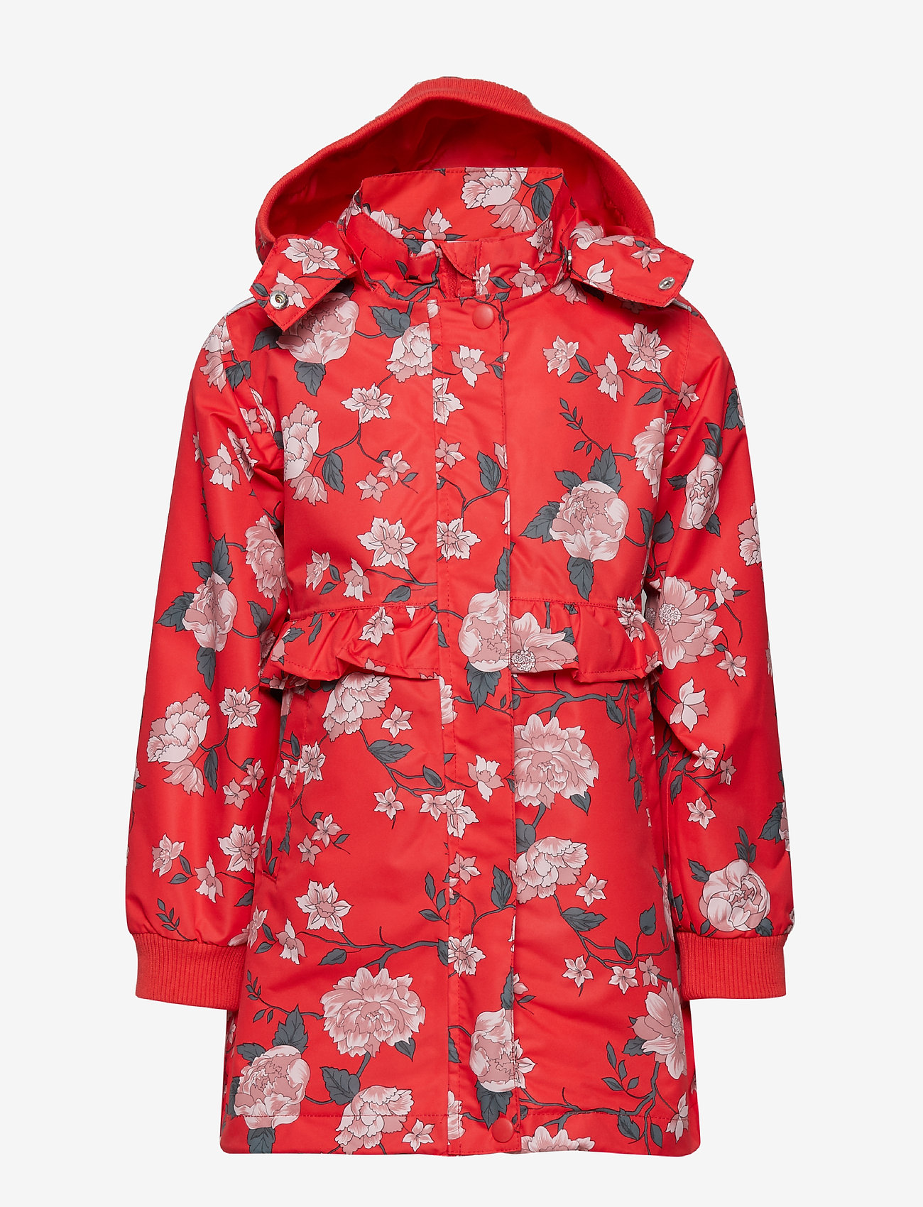 Hust & Claire - Oline - Jacket - parkas - poppy red