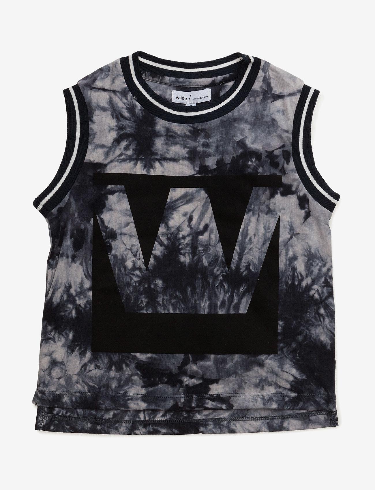 Hust & Claire - T-shirt - bez piedurknēm - deep ocean - 0