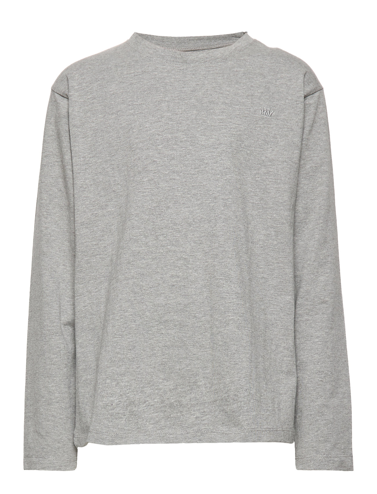 Hust & Claire T-shirt L/S - LIGHT GREY MELANGE