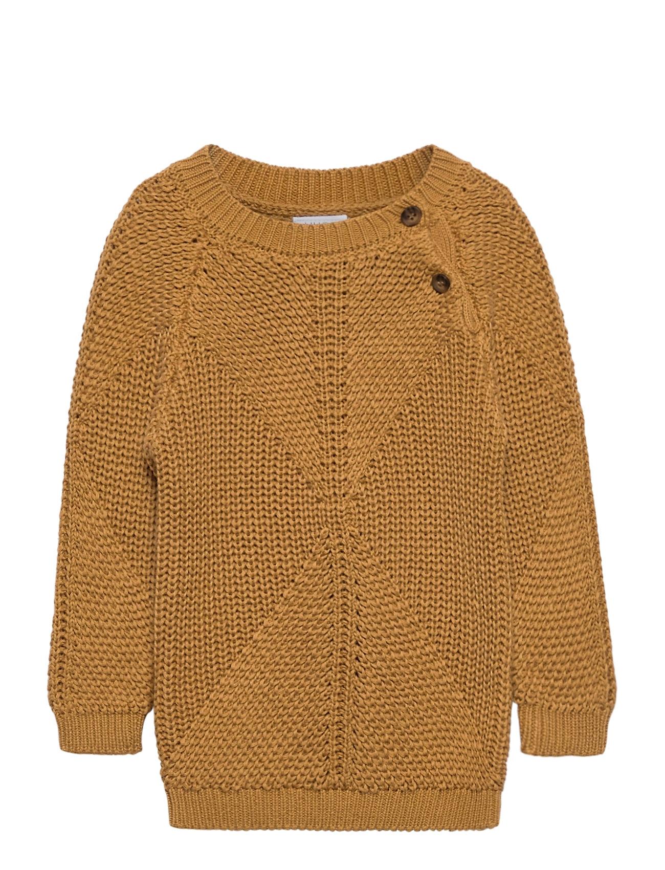 Image of Palle - Pullover Pullover Striktrøje Orange Hust & Claire (3448365029)