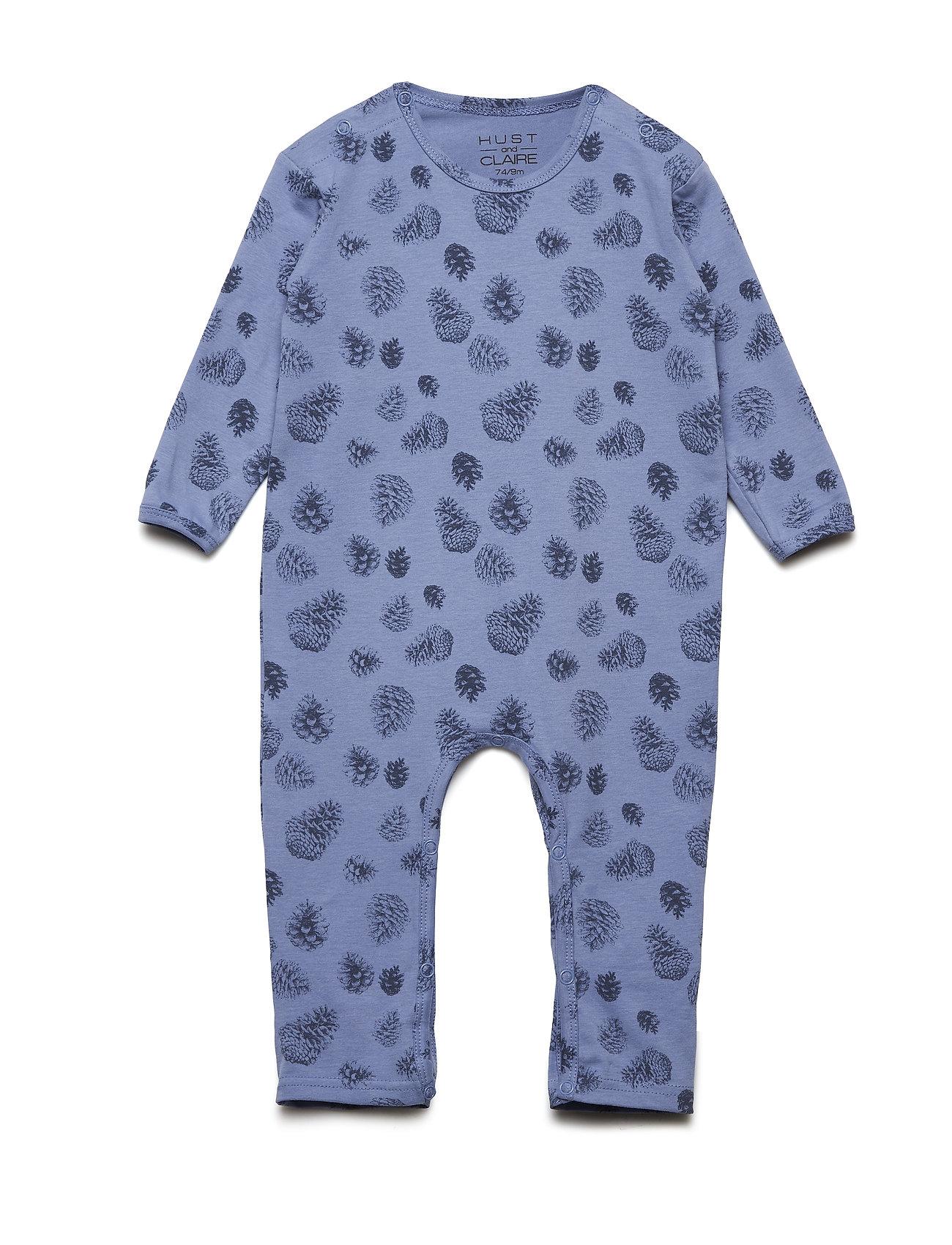 Hust & Claire - Mama - Jumpsuit - langärmelig - blue bell - 0