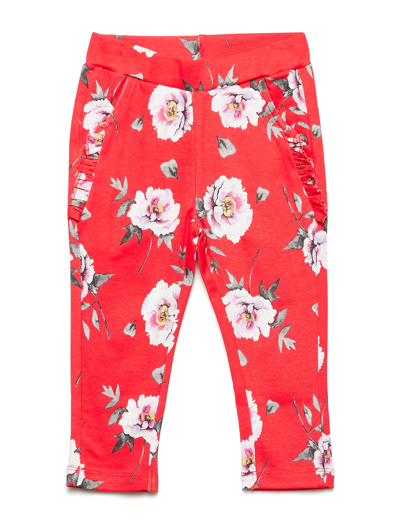 db87fdb3 Tiba - Trousers bukser fra Hust & Claire til børn i POPPY RED ...