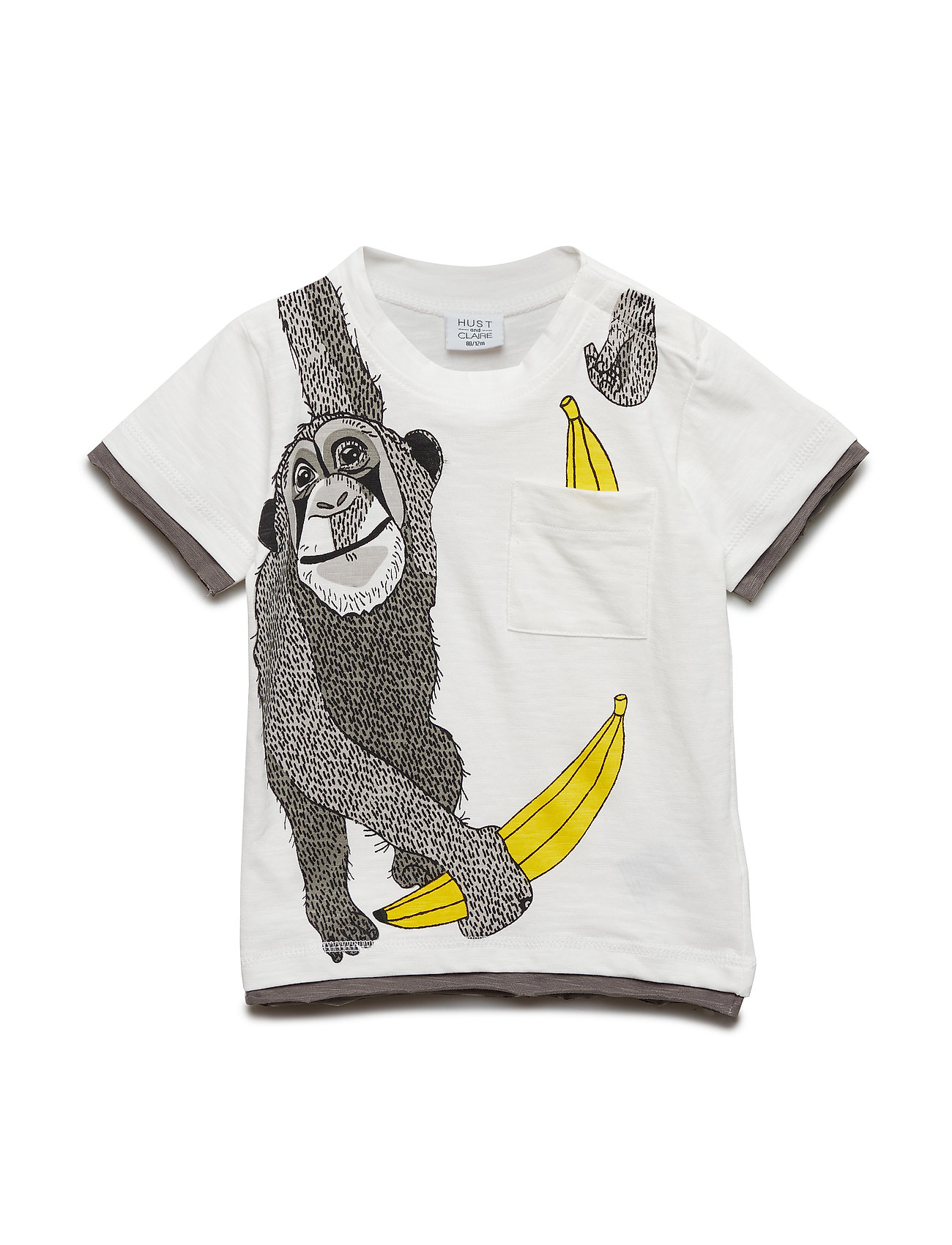 Hust & Claire Ask - T-shirt s/s - IVORY