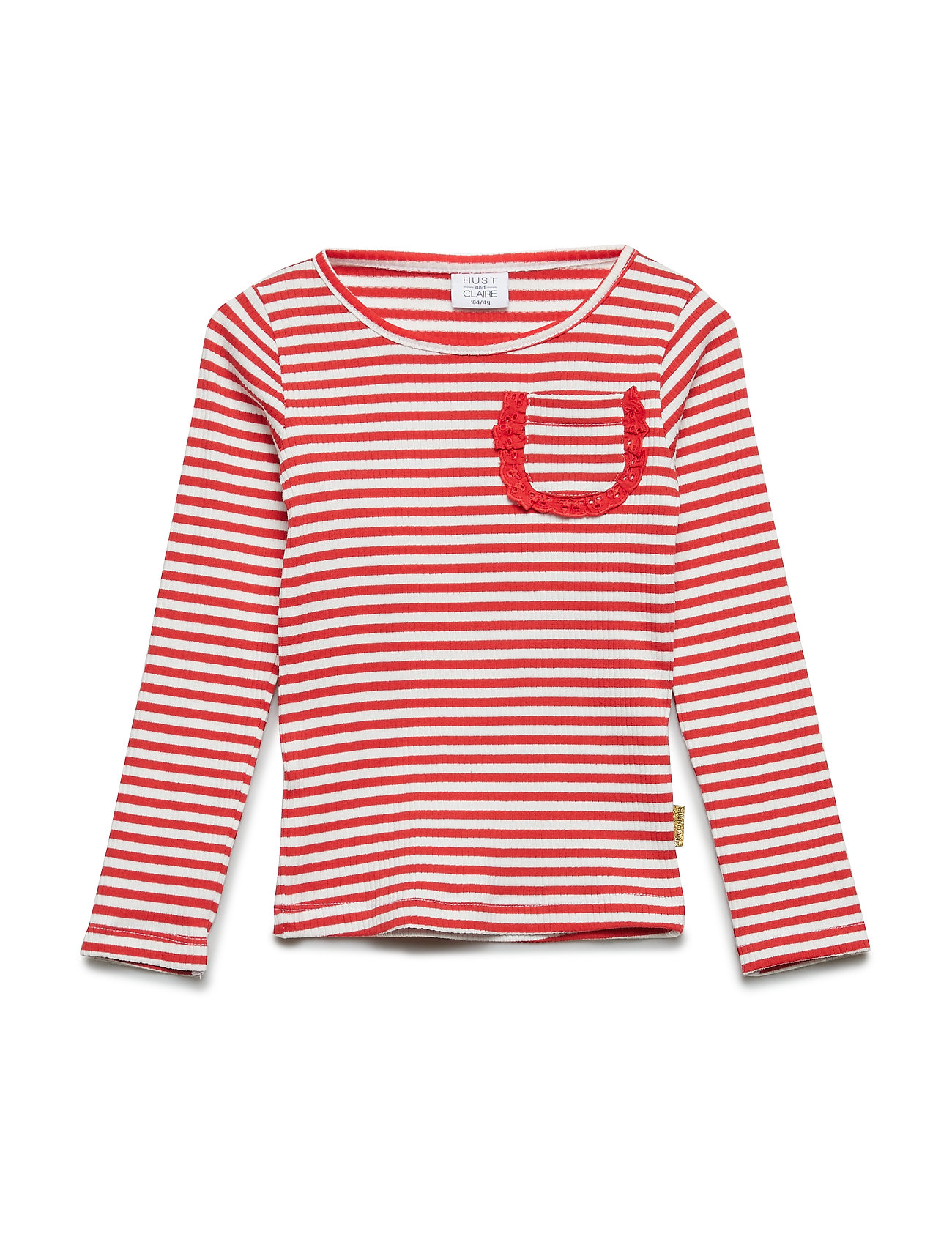 Hust & Claire Alma - T-shirt l/s - POPPY RED