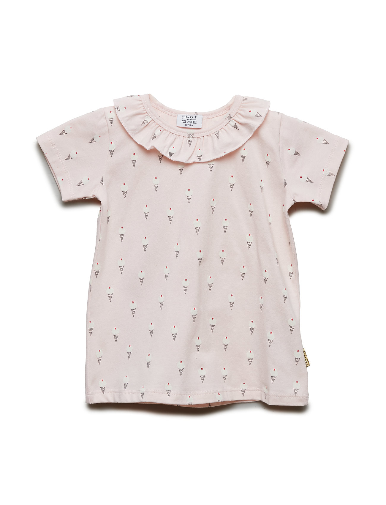 Hust & Claire Audrey - T-shirt S/S - NUDE PINK