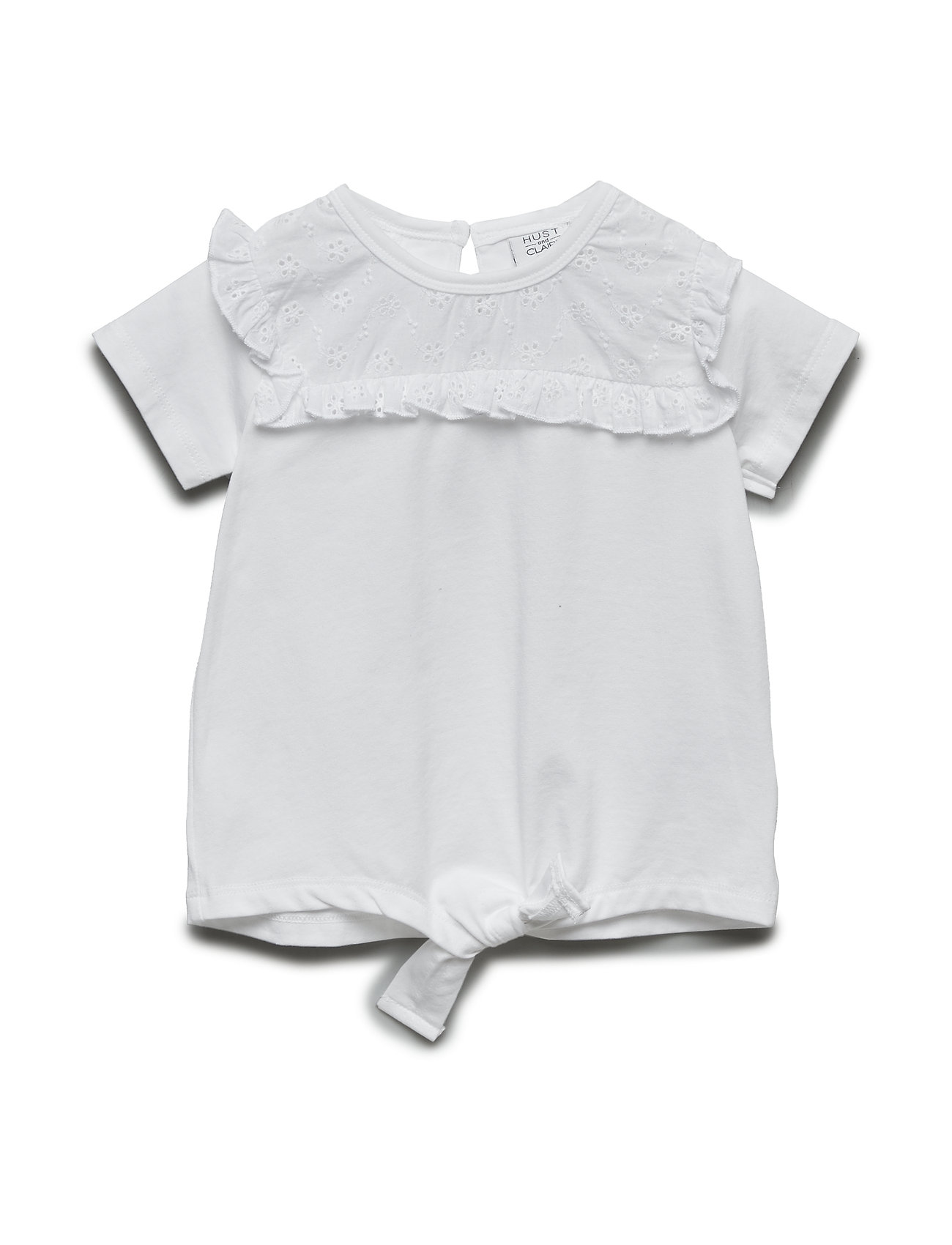 Hust & Claire Adelin - T-shirt S/S - WHITE