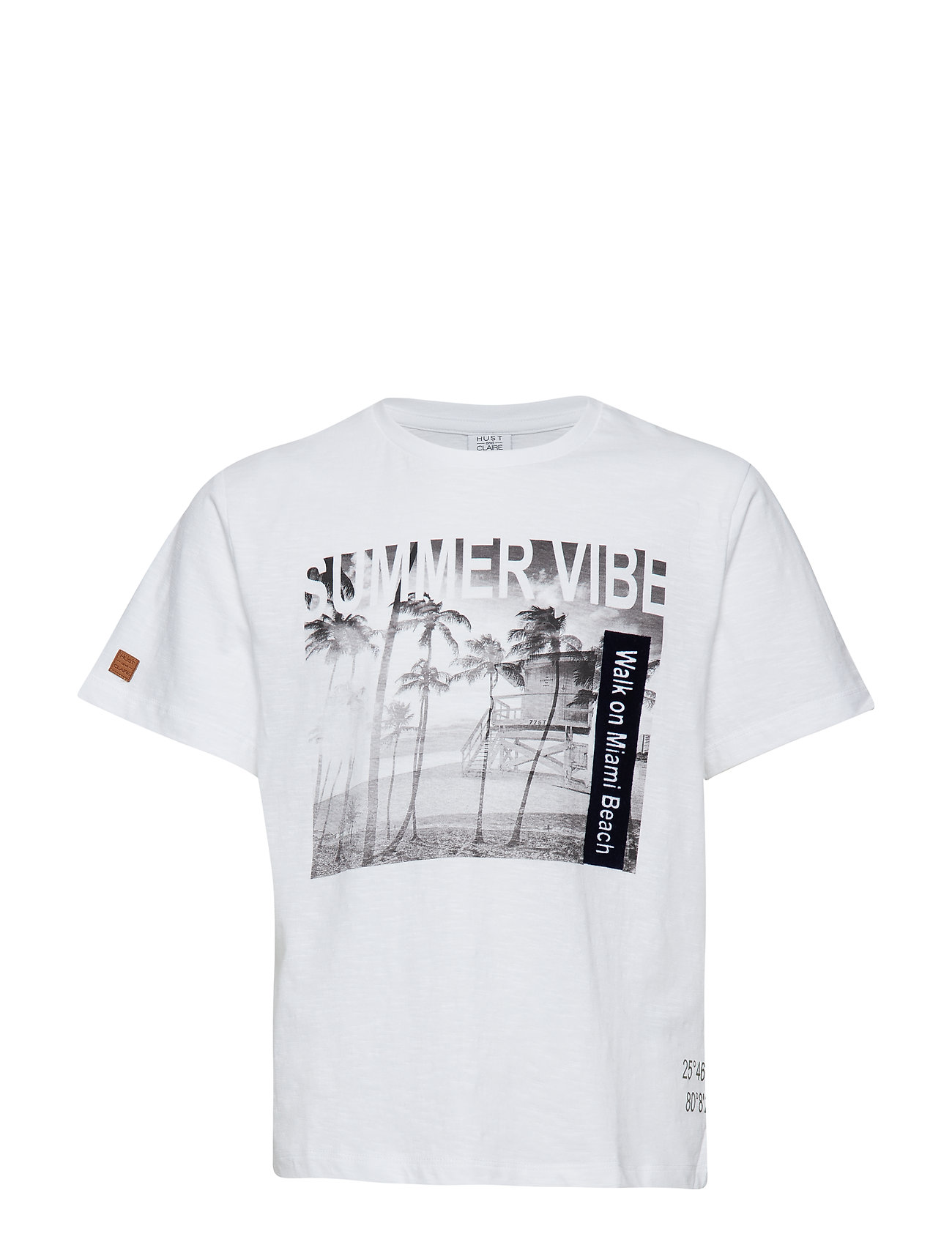 Hust & Claire Angus - T-shirt S/S - WHITE