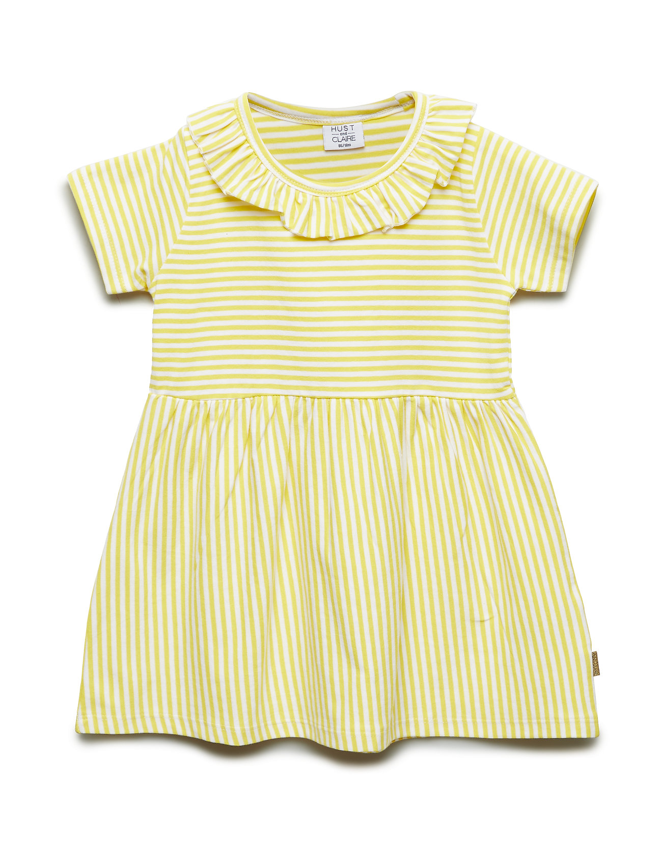 Hust & Claire Daliah - Dress - LEMON