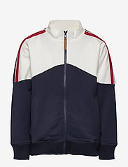 Hust & Claire - Clapton - Cardigan - tracksuits - navy - 0