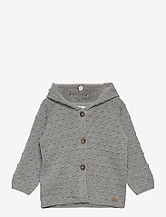 Hust & Claire - Cookie - Cardigan - gilets - light grey melange - 0