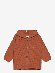 Hust & Claire - Cookie - Cardigan - gilets - rusty - 0