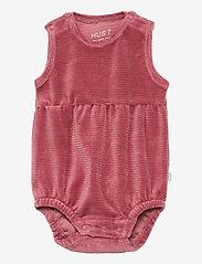 Hust & Claire - Berbel - Bodystocking - kurzärmelige - red rouge - 0