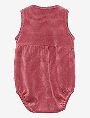 Hust & Claire - Berbel - Bodystocking - kurzärmelige - red rouge - 1