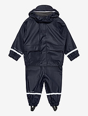 Hust & Claire - Rain Overall Set - ensembles - navy - 0