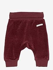 Gail - Trousers - MAHOGANY