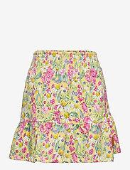 Hust & Claire - Nilea - Skirt - röcke - citron - 0