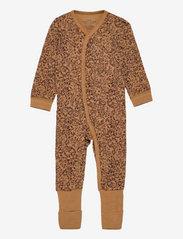 Hust & Claire - Manui - Nightwear - langärmelig - cinnamon - 0
