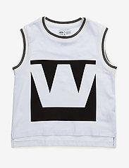 Hust & Claire - T-shirt - bez piedurknēm - white - 0