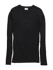 Knit pullover - BLACK