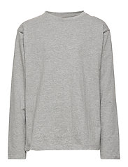 T-shirt L/S - LIGHT GREY MELANGE