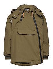 Oby - Jacket - DARK OLIVE