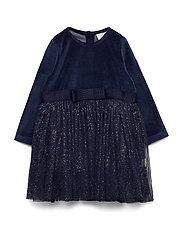 Damini - Dress - NAVY