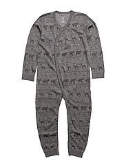 Nightwear - WOOL GREY