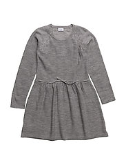 Dress - LIGHT GREY MELANGE