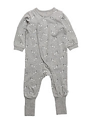 Nightsuit - LIGHT GREY MELANGE