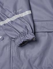 Hust & Claire - Rain Trousers Set - ensembles - metal blue - 6