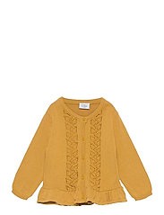 Candie - Cardigan - CANARY