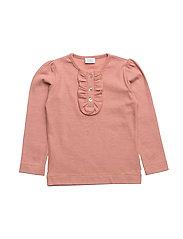 T-shirt L/S - ROSE BROWN