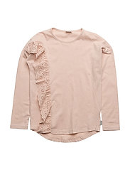 T-shirt L/S - PEACH ROSE