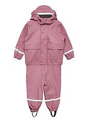 Rain Overall Set - BABY PLUM