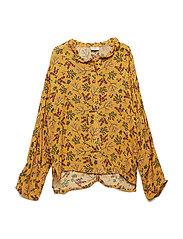 Rija - Shirt - OCHRE