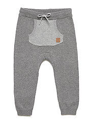 Graham - Knit trousers - GREY BLEND