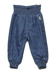 Jaya - Trousers - DENIM