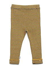 Lolly - Knit leggings - OCHRE