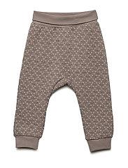 Gail - Jogging trousers - ASH BROWN