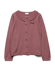 Carla - Knit Cardigan - RED ROUGE