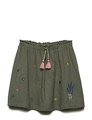 Nina - Skirt - GREEN MOSS