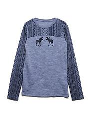 Awo - Nightwear - BLUE FOG MELANGE