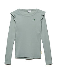 Ashley - T-shirt L/S - JADE GREEN