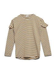 Agnes - T-shirt L/S - OCHRE