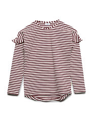 Agnes - T-shirt L/S - RED ROUGE
