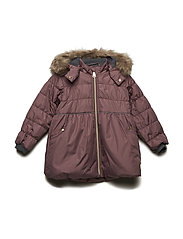 Odine - Jacket - PLUM WINE