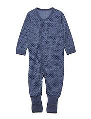 Manu - Nightwear - BLUE FOG MELANGE