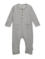 Molle - Jumpsuit - LIGHT GREY MELANGE