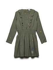 Dicte - Dress - GREEN MOSS